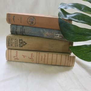 2《Vintage》 books decorative